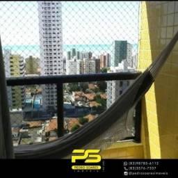 Apartamento com 4 dormitórios à venda, 102 m² por R$ 550.000,00 - Manaíra - João Pessoa/PB