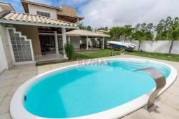 Casa no condomínio Vilas do Jacuipe, com 5 quartos sendo 2 suítes, 216 m² por R$ 599.000 -