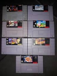 Fitas ORIGINAIS de Super Nintendo Snes