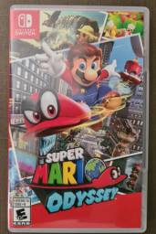 Super Mario Odyssey Mídia Física p/ Nintendo Switch