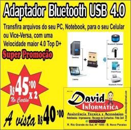 Adaptador Bluetooth USB 4.0 / Transfira arquivos do seu PC, Notebook