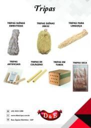Tripas para acougues e fabricas de linguiça