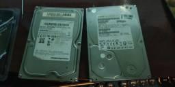 2 HD de 1 tb cada Samsung e Hitachi usado.