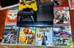 PS3 Desbloqueado com 26 jogos