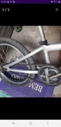 Bicicleta Cross aceito cartão