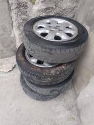 Roda e pneu 700