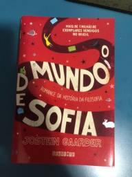 Livro-O Mundo de Sofia de Jostein Gaarder