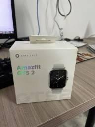 Relógio Amazfit GTS2 Cinza- Nunca usado