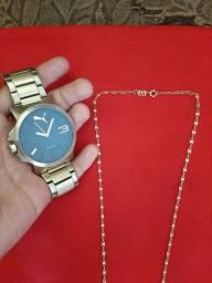 Vendo Corrente Romanell e Relógio Puma