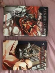 Vendo volume 1 e 2 de attack on Titan/ shingeki no kyojin