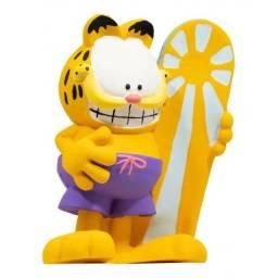 Boneco Gato Garfield Surf gatinho Mordedor Infantil Macio Bebê para Crianças