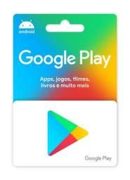 Gift Card Google Play Credito Duzentos reais
