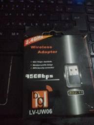 Placa de wi-fi USB