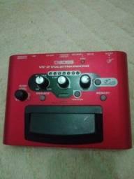 pedal processador de voz ve2 boss harmonist