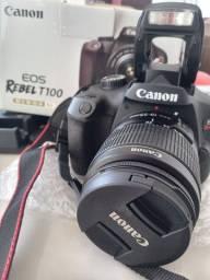 Câmera Canon T100 Novíssima