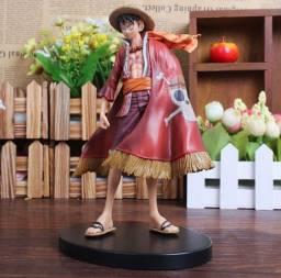 Action Figure Boneco Monkey D Luffy One Piece 17cm