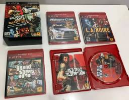 Red Dead Rockstar Game Collection Ps3 4 jogos Mídia Fisica - Usado