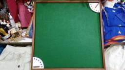 Tabuleiro + relógio para dominó