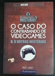 Livro O Caso do Contrabando de Videogames