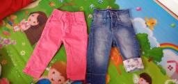 Calça jeans para bebê