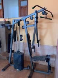 Estação de musculação completo