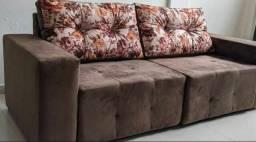 Lindo sofá 2 metros de largura mega promoção