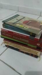 Pacote de 50 livros variados