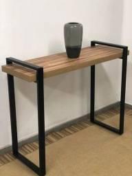 Mesa escrivaninha-Aparador industrial novo 3 anos de garantia