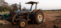 Trator Ford 6600 c/ Lâmina