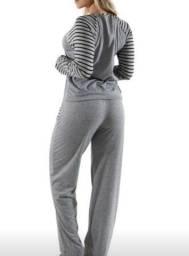 Pijama cinza 54,90