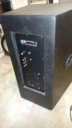 Caixa ativa 600 watts