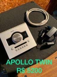 Placa de gravação Apollo twin