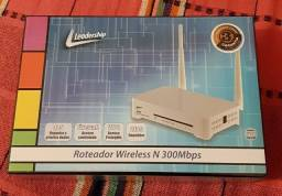 Roteador Leadership Wireless N 300mbps 3348 - Novo