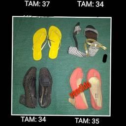 R$ 3 Calçados Adultos e Infantis