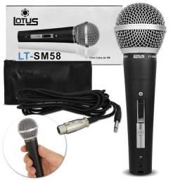 Microfone lotus LT-SM58 <br>(NOVO NA CAIXA)