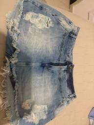 Short saia  tamanho 38