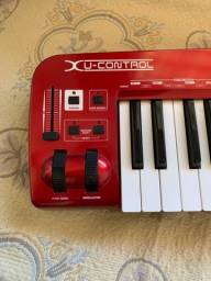 VENDO Teclado Controlador Behringer USB MIDI UMX610