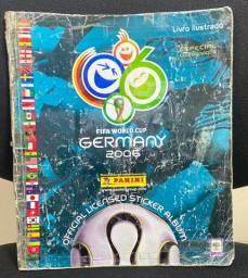 Álbum Figurinhas Copa 2006 Alemanha