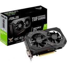 Placa de Vídeo Asus, Tuf Gaming GeForce, GTX 1650 Super OC Dual, 4GB, GDDR6