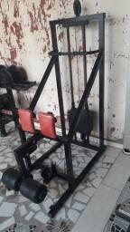 Máquina flexora vertical