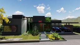 Casa de condomínio para venda possui 250 metros quadrados com 4 quartos