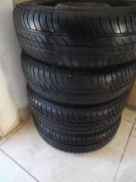 Rodas 13 pneus novos