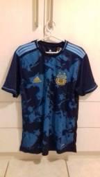 Camisa da Argentina tamanho G com chaveiro