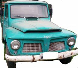 Jeep Willys Pickup 1965- antecessora F75