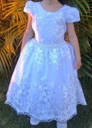Vestido infantil Dama de Honra, formatura ou festa em Fortaleza