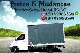 Frete & Mudança Interior-Serra-Litoral-RS-SC