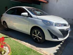 yaris xs completo veiculo sem detalhes manual e chave reserva