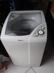 Máquina de lavar roupas atlas automática 5kg com defeito troco trocas viveiro aquários