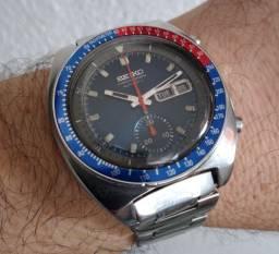 Seiko Pogue 6139 cronografo ano 1973 perfeito