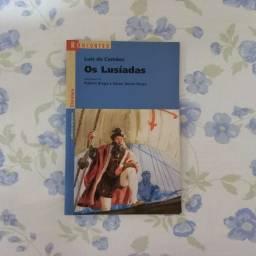 """Livro """"Os Lusíadas"""", de Luís de Camões"""
